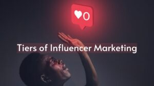 Tiers of Influencer Marketing